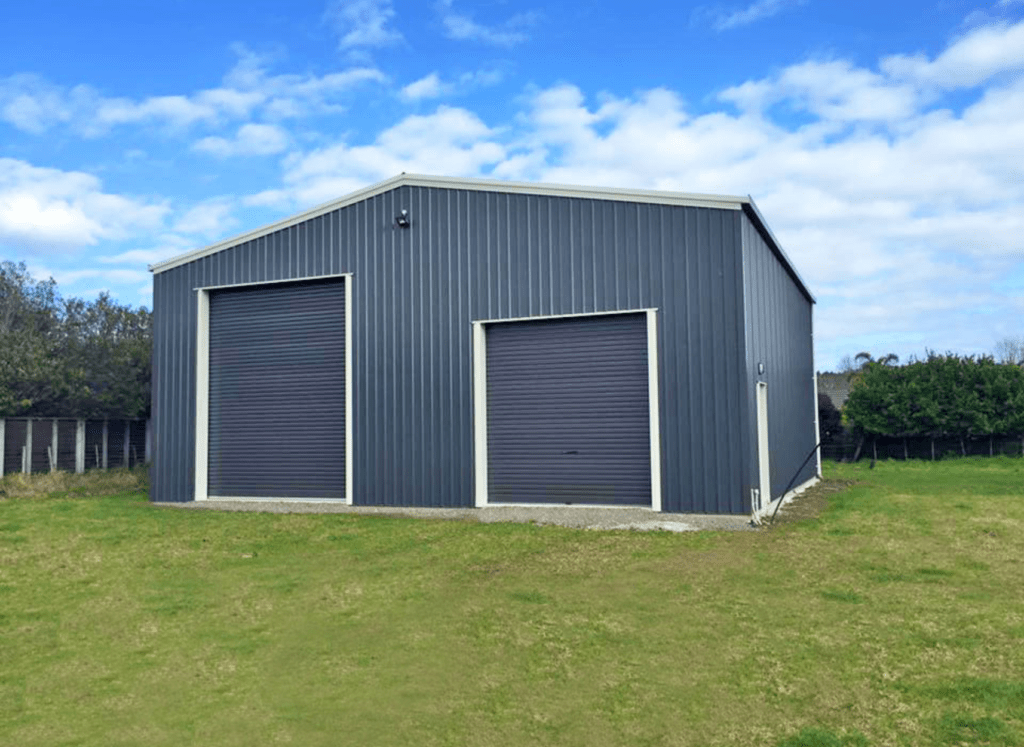 Large two bay barn