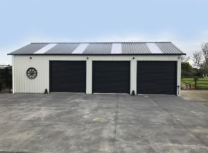 KiwiSpan garage shed