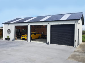 Residential car garage