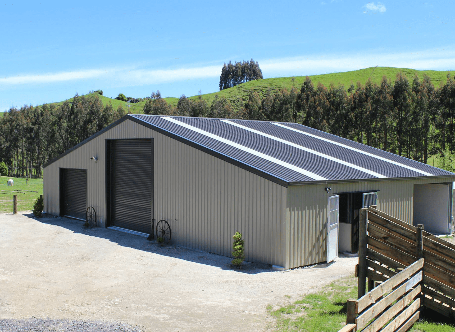 Horse Shelters And Stables Designed For You Kiwispan